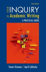 From Inquiry to Academic Writing 3rd Edition 9781319002145 1319002145