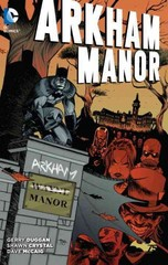 Arkham Manor 1st Edition 9781401254582 1401254586