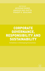 Corporate Governance, Responsibility and Sustainability 1st Edition 9781137361851 1137361859