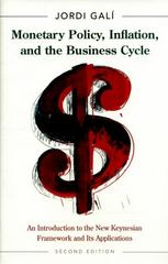 Monetary Policy, Inflation, and the Business Cycle 2nd Edition 9780691164786 0691164789
