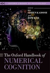 The Oxford Handbook of Numerical Cognition 1st Edition 9780199642342 0199642346