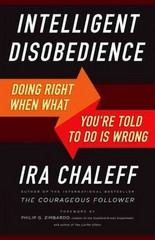 Intelligent Disobedience 1st Edition 9781626564275 1626564272