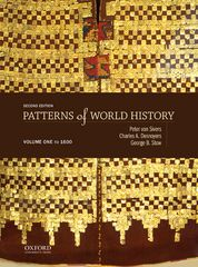 Patterns of World History: Volume One: To 1600 2nd Edition 9780199399758 0199399751