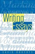 The Student's Guide to Writing Essays 0 9780749421922 0749421924