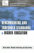 Benchmarking and Threshold Standards in Higher Education 0 9780749430337 0749430338