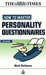 How to Master Personality Questionnaires 2nd edition 9780749434199 0749434198