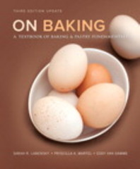 On Baking (Update) Plus MyCulinaryLab with Pearson eText -- Access Card Package 3rd Edition 9780134115252 0134115252