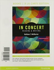 In Concert 2nd Edition 9780134118239 0134118235