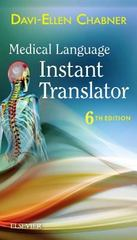 Medical Language Instant Translator 6th Edition 9780323378437 0323378439
