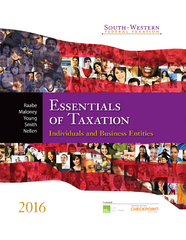 South-Western Federal Taxation 2016 19th Edition 9781305534001 130553400X