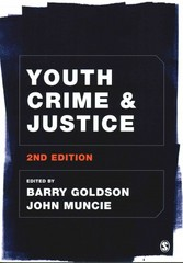 Youth Crime and Justice 2nd Edition 9781446210833 1446210839