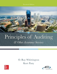 Principles of Auditing & Other Assurance Services 20th Edition 9780077729141 0077729145