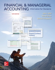 Financial and Managerial Accounting 6th Edition 9780078025761 0078025761