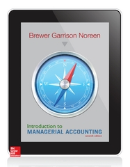 Introduction to Managerial Accounting 7th Edition 9780078025792 0078025796