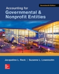 Accounting for Governmental amp  Nonprofit Entities