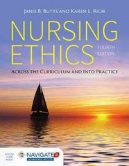 Nursing Ethics 4th Edition 9781284059519 1284059510