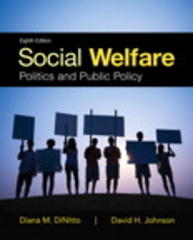 Social Welfare 8th Edition 9780205959136 020595913X