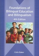 Foundations of Bilingual Education and Bilingualism 4th edition 9781853598647 185359864X