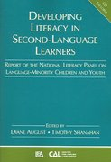 Developing Literacy in Second-Language Learners 0 9780805860771 0805860770