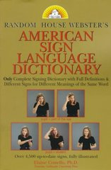 Random House Webster's American Sign Language Dictionary 1st Edition 9780679780113 0679780114