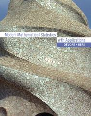 Modern Mathematical Statistics with Applications 1st edition 9781111793739 1111793735