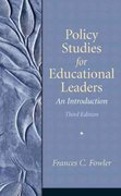 Policy Studies for Educational Leaders 3rd edition 9780136157274 0136157270