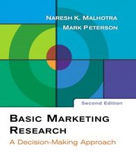 Basic Marketing Research 2nd edition 9780131525429 0131525425
