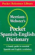 Merriam-Webster's Pocket Spanish-English Dictionary 0 9780877795193 0877795193