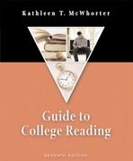 Guide to College Reading 7th edition 9780321276452 0321276450