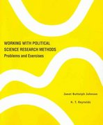 Working with Political Science Research Methods 0 9781568029283 1568029284