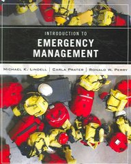 Wiley Pathways Introduction to Emergency Management 1st Edition 9780471772606 0471772607