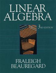 Linear Algebra 3rd edition 9780201526752 0201526751