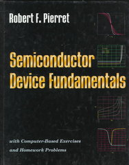 Semiconductor Device Fundamentals 1st edition 9780201543933 0201543931