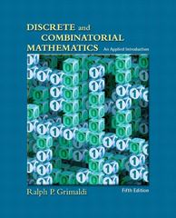 Discrete and Combinatorial Mathematics 5th edition 9780201726343 0201726343