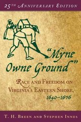 """Myne Owne Ground"" 225th Edition 9780195175370 0195175379"