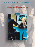 Annual Editions: Human Resources 08/09 17th edition 9780073528472 0073528471