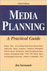 Media Planning: A Practical Guide, Third Edition 3rd edition 9780844235127 0844235121