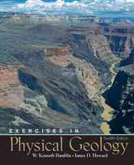 Exercises in Physical Geology 12th Edition 9780131447707 013144770X