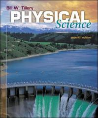 Physical Science 7th edition 9780073049922 0073049921