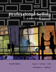 Professional Selling 4th edition 9780324538090 032453809X