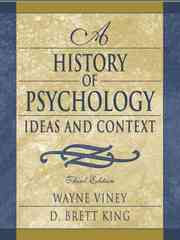 A History of Psychology 3rd edition 9780205335824 0205335829