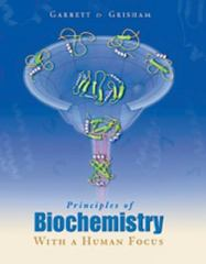 Principles of Biochemistry With a Human Focus 1st edition 9780030973697 0030973694