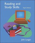 Reading and Study Skills 8th edition 9780073288437 0073288438