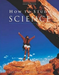 How to Study Science 4th edition 9780072346930 0072346930