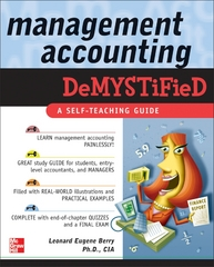 Management Accounting Demystified 1st edition 9780071459617 0071459618