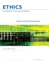 Ethics in Media Communications 5th Edition 9780534637149 0534637140