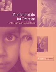 Fundamentals for Practice with High Risk Populations 1st edition 9780534558666 0534558666