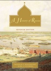 A History of Russia: Combined Volume 7th Edition 9780195153941 0195153944