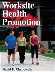 Worksite Health Promotion 2nd edition 9780736060417 0736060413