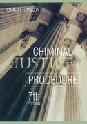 Criminal Justice Procedure 7th edition 9781593459611 1593459610